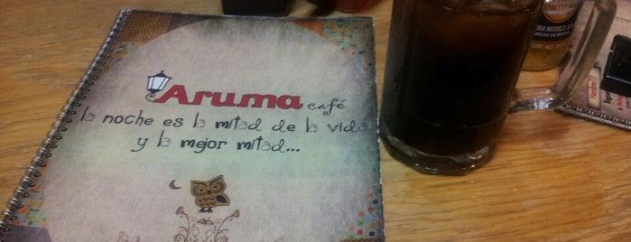 Aruma Cafe is one of Lieux sauvegardés par Ilse.