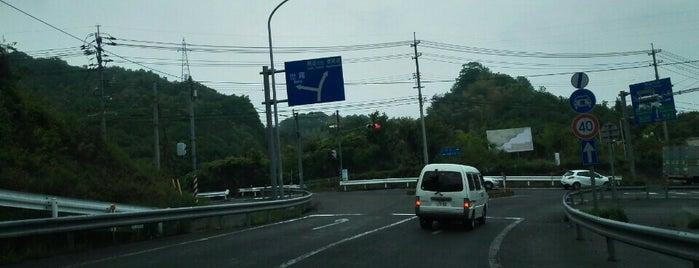 西瀬戸尾道IC is one of 西瀬戸自動車道(しまなみ海道).