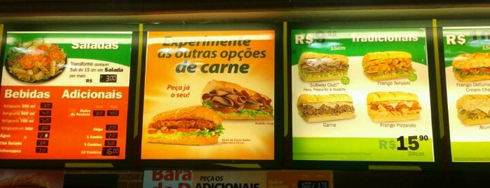 Subway is one of The 20 best value restaurants in Brasil.