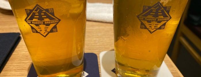 伊勢角屋麦酒 is one of atsushi69さんのお気に入りスポット.