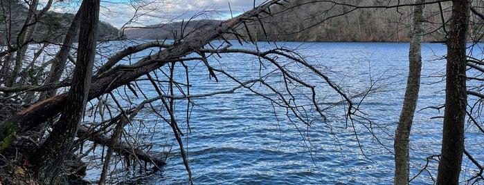 Lake Zoar is one of Connecticut.