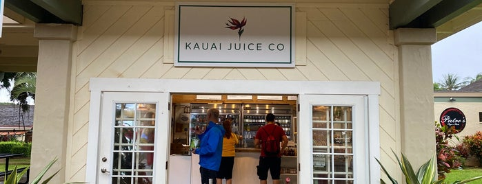 Kauai Juice Co is one of Kauai 🌸.