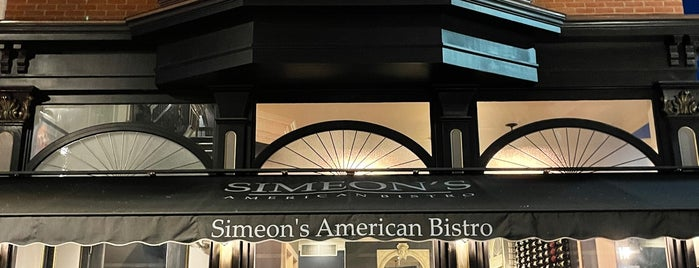 Simeon's on the Commons is one of Ithaca.