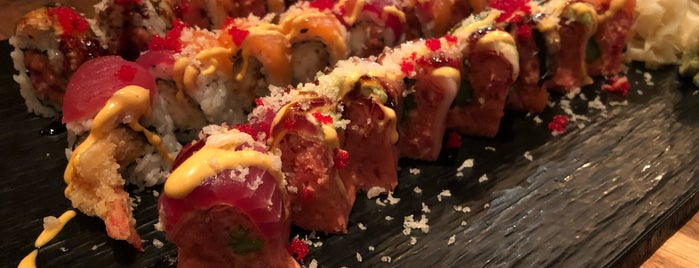Zen Sushi is one of Nikkiさんの保存済みスポット.