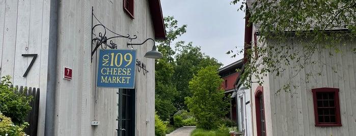 No. 109 Cheese & Wine is one of Ridgefield CT.