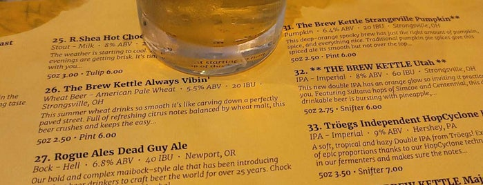The Brew Kettle Hudson is one of Breweries I've Visited.