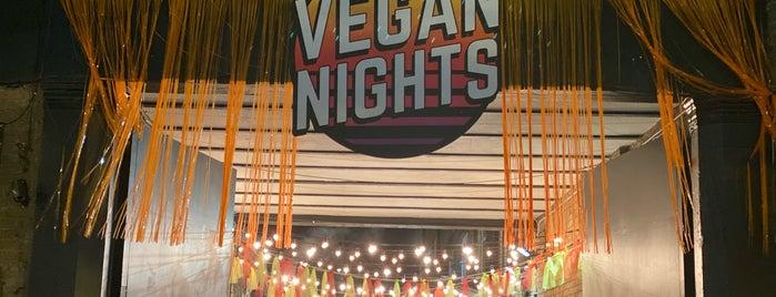 Vegan Nights London is one of Locais curtidos por Rosie.