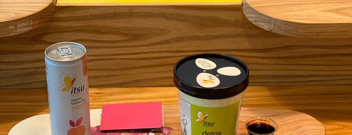 itsu is one of London.