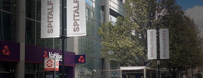 Spitalfields is one of London.