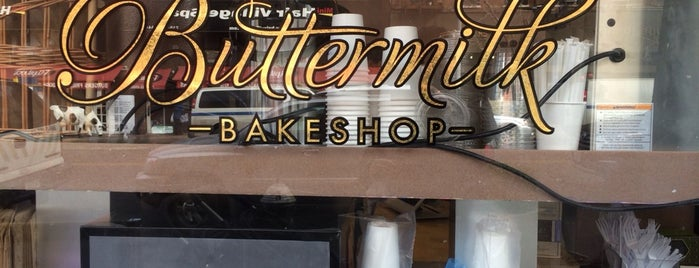 Buttermilk Bakeshop is one of Lugares favoritos de Andy.