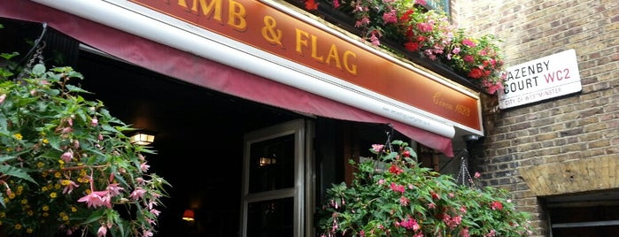 The Lamb & Flag is one of Viagem.