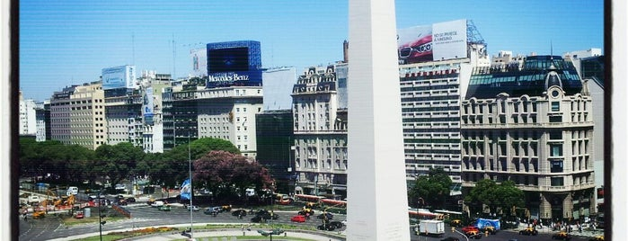 Obelisco - Plaza de la República is one of Buenos Aires - WT.