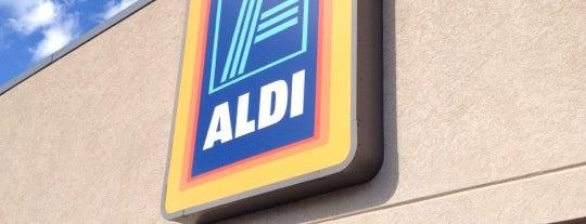 ALDI is one of Tempat yang Disukai Tony.