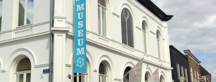 Zoutmuseum is one of Museums that accept museum card.