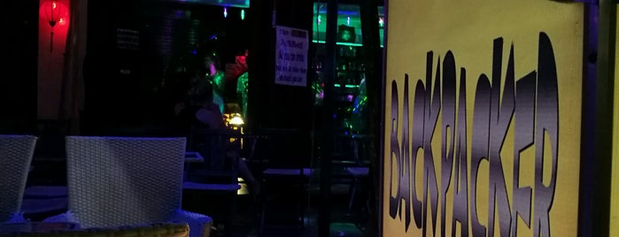 Backpackers Bar is one of Andy : понравившиеся места.