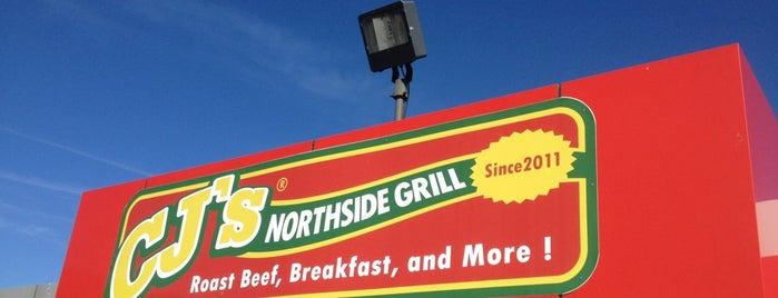 CJ's Northside Grill is one of Gespeicherte Orte von Chris.
