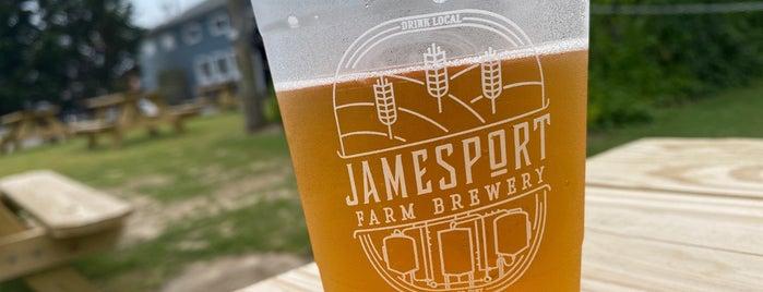 Jamesport Farm Brewery is one of LI Breweries.