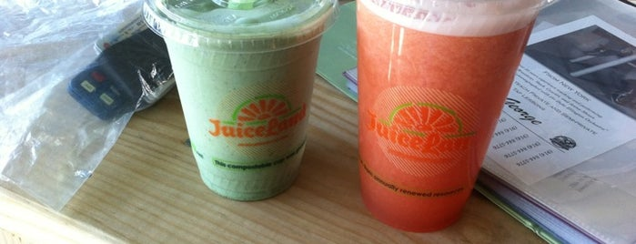JuiceLand is one of Favorites.
