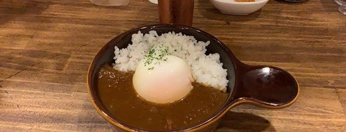 カレー Clover is one of TOKYO-TOYO-CURRY 4.