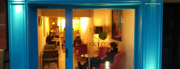 Holy Coffee is one of Coffeeshops in Istanbul.