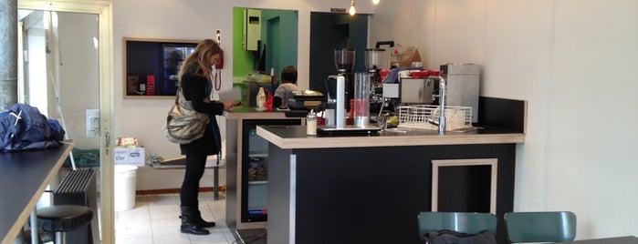Snackbar KOFFIE is one of Belgium Coffeebars.