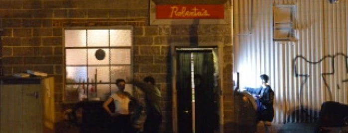 Roberta's Pizza is one of ny.