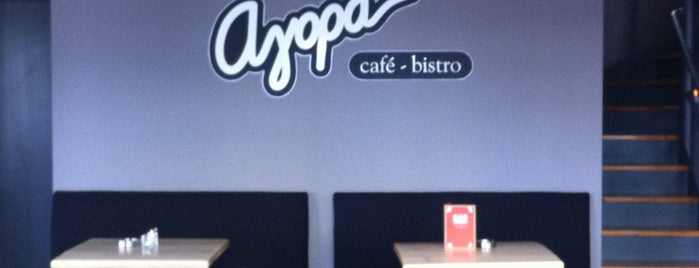 Αγορά Café Bistro is one of Lieux qui ont plu à Tasos.