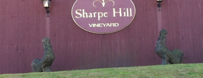 Sharpe Hill Vineyard is one of Winery's.