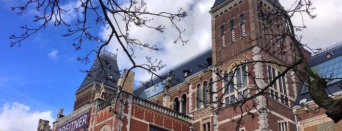 Rijksmuseum is one of Locais curtidos por Ish.