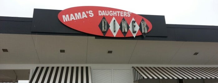 Mama's Daughters' Diner is one of Dustin'in Beğendiği Mekanlar.