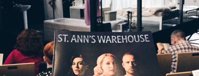 St. Ann's Warehouse is one of NYC DOs.