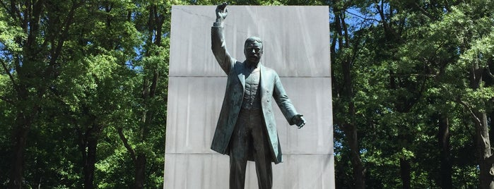 Theodore Roosevelt Island is one of DC favorites.