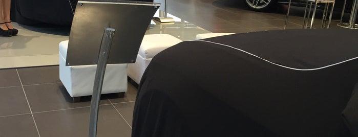 Audi Center is one of Jaさんのお気に入りスポット.