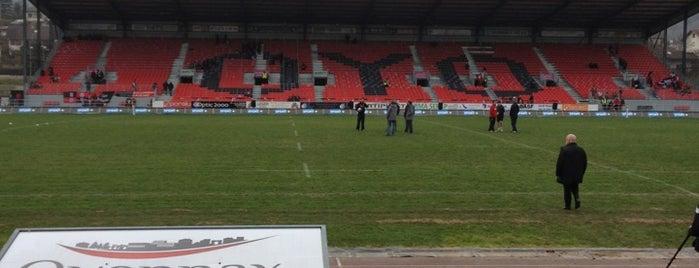 Stade Charles Mathon is one of 'Stadium Talk'....