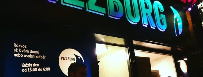 Pizzburg is one of Tempat yang Disimpan Lucie.