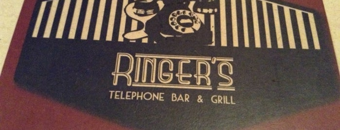 Ringers - Telephone Bar & Grill is one of DF.