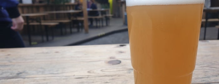 German Kraft is one of London's Best for Beer.