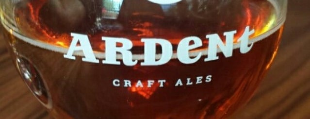 Ardent Craft Ales Brewery is one of Virginia.
