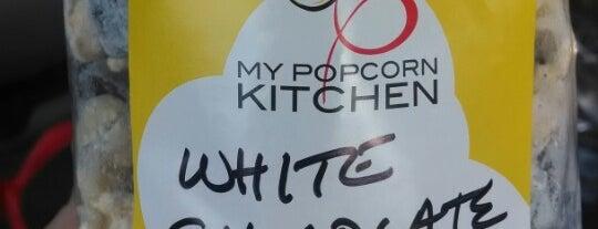 My popcorn kitchen is one of สถานที่ที่ Patrick ถูกใจ.