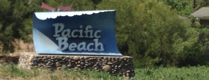 Pacific Beach Sign is one of USA 3.