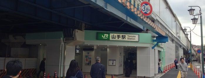 Yamate Station is one of JR 미나미간토지방역 (JR 南関東地方の駅).