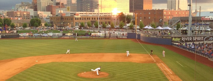 ONEOK Field is one of Tulsa - Downtown.
