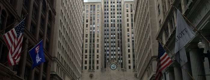 Chicago Board of Trade is one of Chicago.