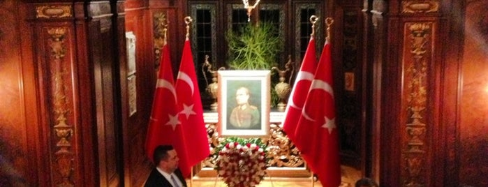Turkish Ambassadors Residence is one of Washington D.C..
