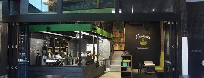 Campos Coffee is one of Orte, die Kat gefallen.