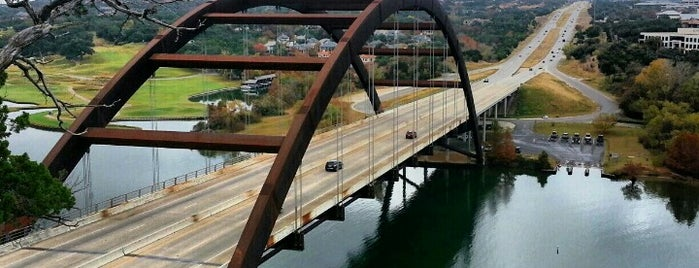 360 Bridge (Pennybacker Bridge) is one of places to try.