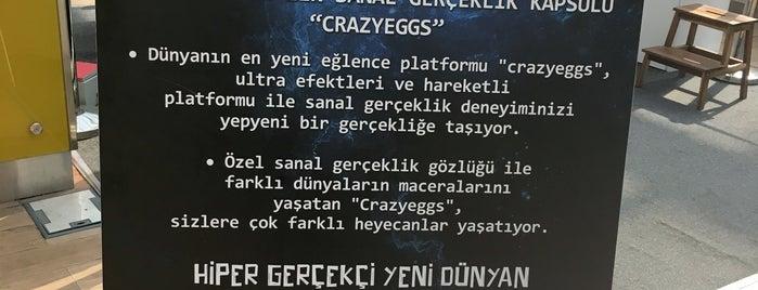 Crazy Egg Sanal Gerçeklik is one of Beğenilenler Listem.