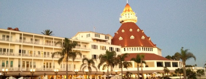 Hotel del Coronado is one of SoCal Musts.