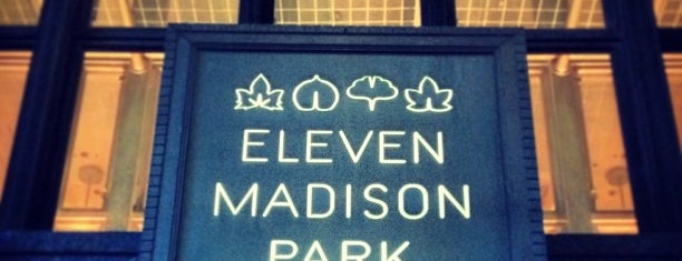 Eleven Madison Park is one of NYC.