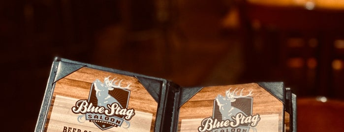 Blue Stag Saloon is one of Tempat yang Disukai Ⓔⓡⓘⓒ.